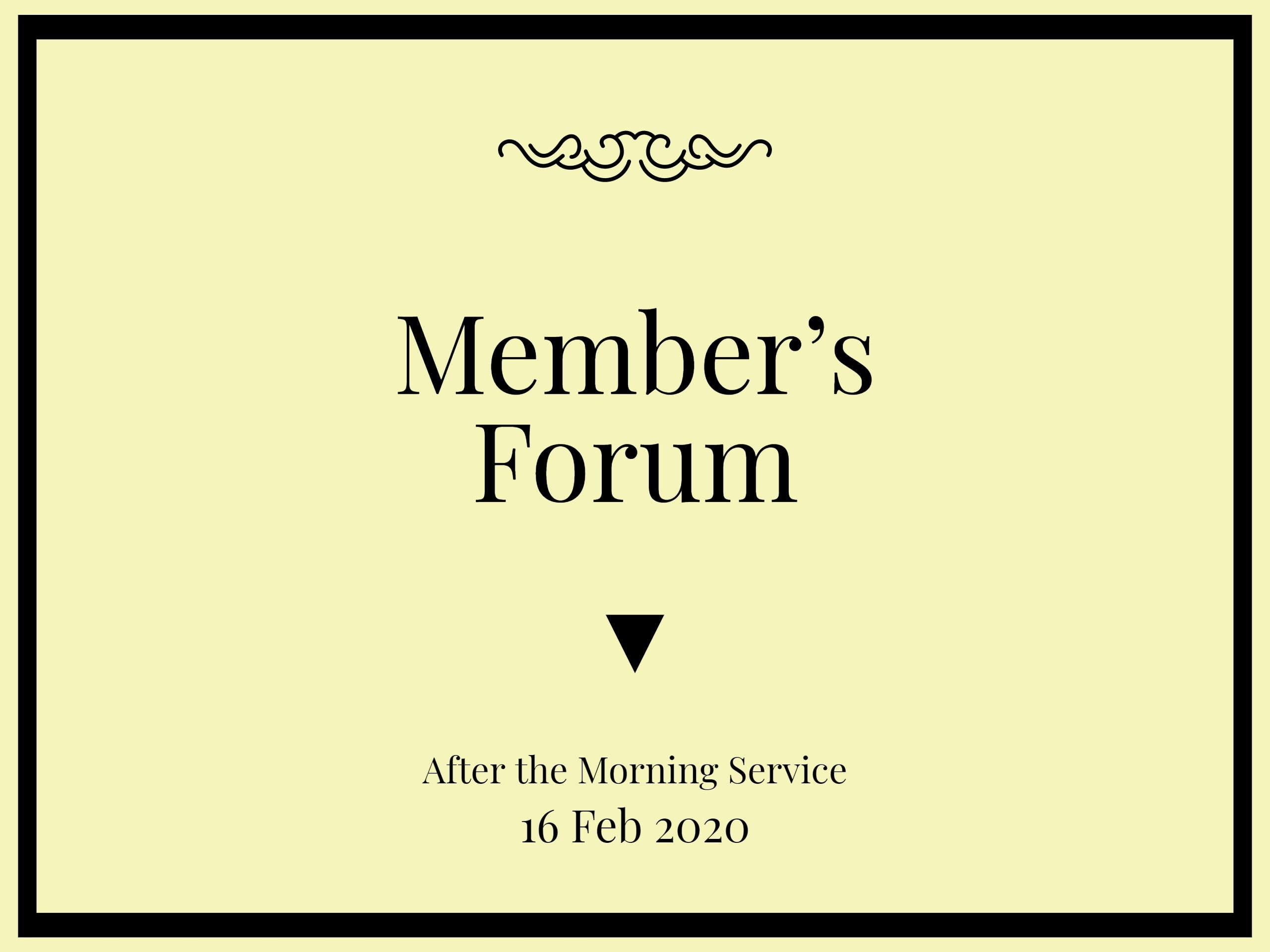Members-Forum-16Feb